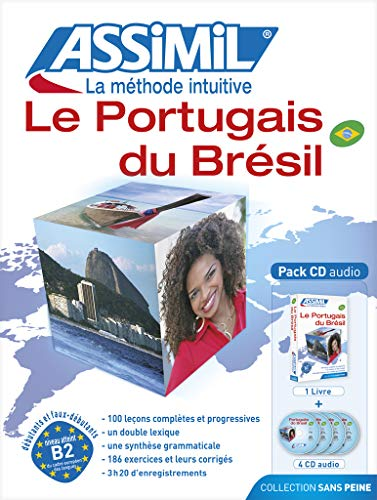 9782700520248: Assimil Pack Portugais du Bresil (Learn Portuguese from French) Book plus 4 CD's (Portuguese Edition)