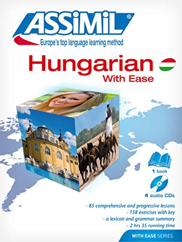 9782700520286: Assimil Pack Hungarian with Ease - Book + 4 CD's (Hungarian Edition)