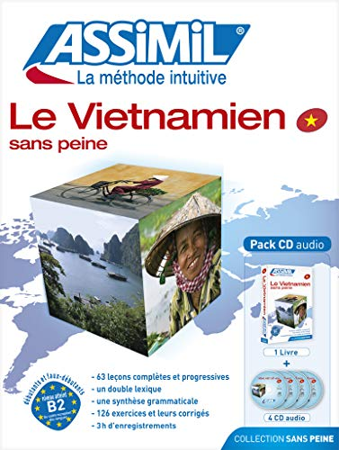 9782700520347: Assimil Le Vietnamien sans Peine - Vietnamese for French speakers ; Livre + CD Audio (x4) (Vietnamese Edition)
