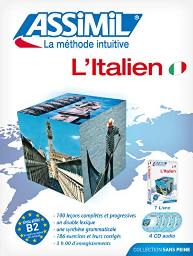 9782700520828: Assimil Pack: L'Italien ; Livre + CD Audio (x4 (Italian Edition)