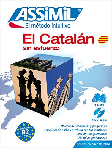 9782700520927: Pack CD Catalan Sin Esfuerzo (Book plus 4 CD) (Catalan Edition)