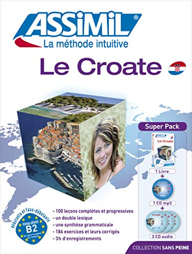 9782700521061: Le croate sans peine. Con 3 CD Audio. Con CD Audio formato MP3: 1 (Senza sforzo)
