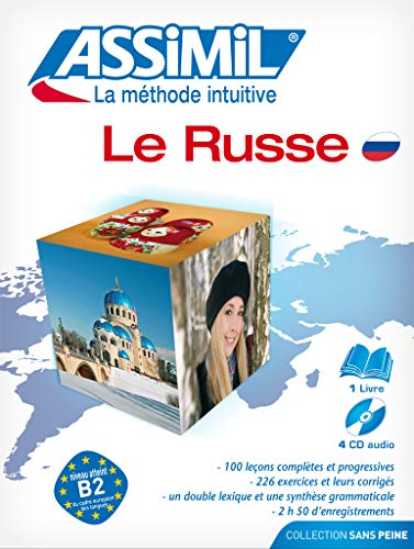 9782700521139: Assimil Pack Le Russe - learn Russian for French speakers - Book+4CD's (Russian Edition) (French Edition)