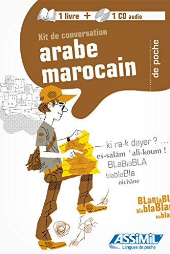 9782700540499: Kit de conversation arabe marocain (1CD audio)