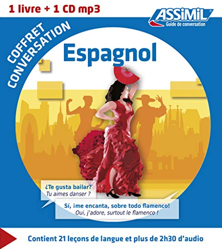 9782700541335: Coffret conversation Espagnol (guide + 1 CD MP3) (Spanish Edition)