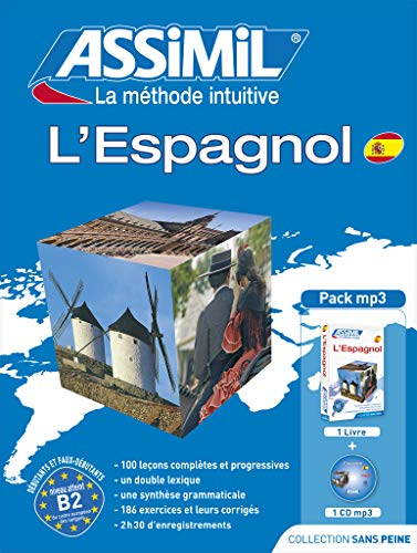 9782700570021: Assimll Pack L'Espagnol- Book + MP3 CD (French Edition)