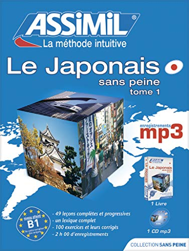 9782700570106: Assimil SuperPack Le Japonais sans Peine: v. I - Book + MP3 CD - Japanese for French speakers (French Edition)