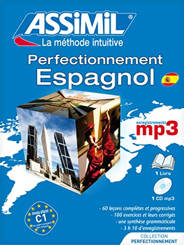 9782700570199: Assimil Superpack Perfectionnement Espagnol (livre+4 Cd audio+1Cd mp3) [ advanced Spanish for French speakers (Spanish Edition)