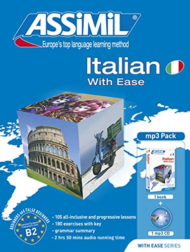 9782700570281: Italian with ease. Con CD Audio formato MP3 (Senza sforzo)