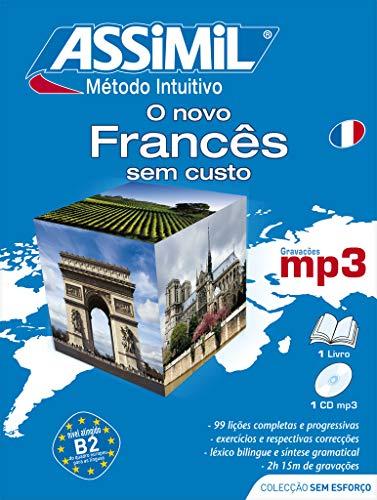 9782700570397: O Novo Frances Sem Custo ; French for Portuguese speakers book+1CDMP3 (SANS PEINE) (Portuguese Edition)