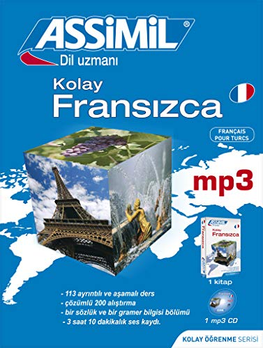 Assimil Pack Kolay francizca; French for Turkish speakers book+1CD MP3 (French Edition) (2700570413) by Assimil Language Courses