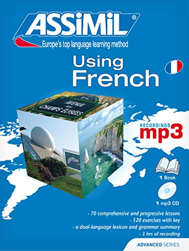 Assimil Superpack Using French [ Advanced French for English speakers ] (Book + 4 Audio CD's + 1 CD MP3 ] (French Edition) (2700570480) by Assimil Language Courses