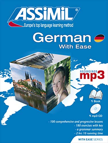 9782700570595: Assimil German With Ease - Learn German for English speakers - Book+1CDmp3 (German Edition)