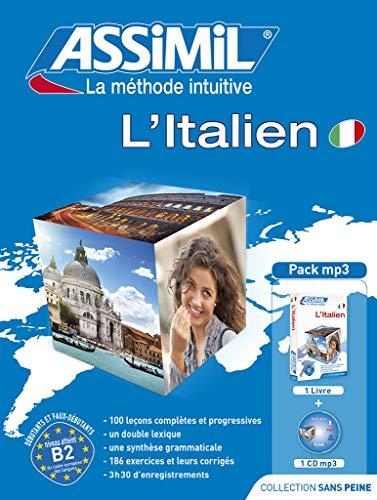 9782700570687: Assimil L' Italien sans peine livre + 1 MP3 CD ; italien a aprtir du francais ; Italian / French (Italian Edition)