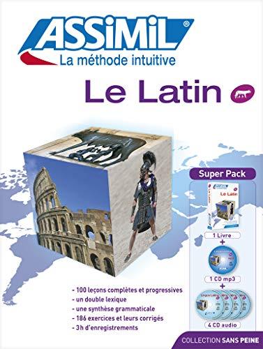 9782700580068: Le Latín Super Pack (Libro+mp3+4 CD) (Senza sforzo)
