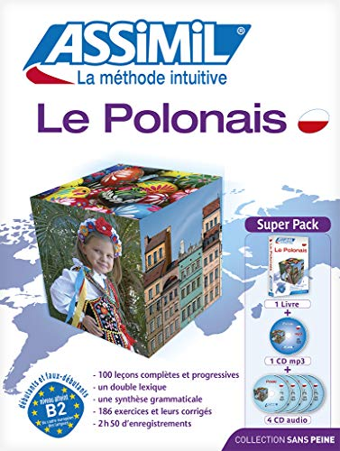 9782700580075: Assimil Superpack Le Polonais - Polish for French speakers (Book + 4 CD's + 1 CD MP3) (French Edition) (Polish Edition)