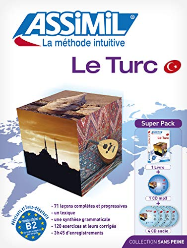 9782700580204: Assimil Le Turc - Turkish for French speakers (Book+4 CD's+1 CD MP3)) (Turkish Edition) (French Edition)