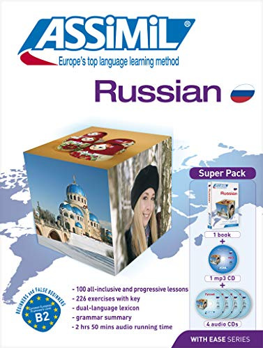 9782700580266: Superpack Learn Russian for English speakers-book plus 4 CD's plus 1 CD MP3 (Russian Edition)