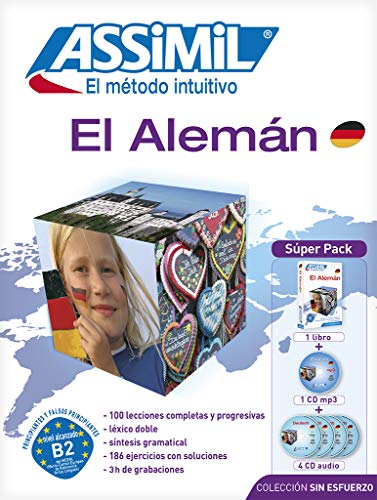 9782700580280: Alemán Superpack (Libro+mp3+4 CD) (Senza sforzo)