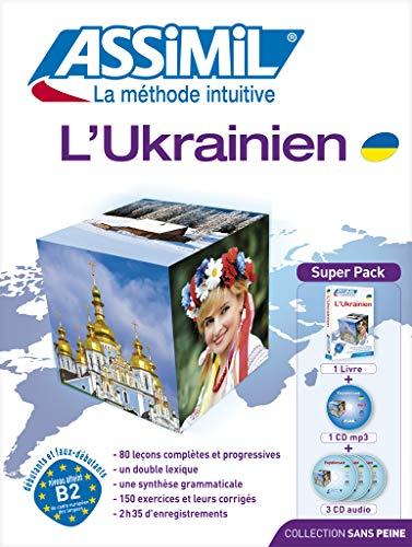 9782700580303: Assimil Pack Ukranien - Ukrainian for French speakers - book+4CD's+1CDMP3 (Ukrainian Edition)
