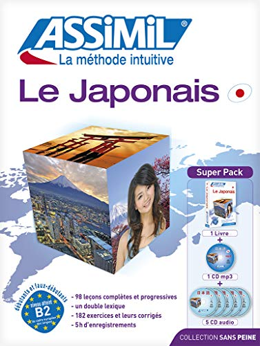 9782700580396: Le japonais. Con 5 CD Audio. Con CD Audio formato MP3 (Senza sforzo)