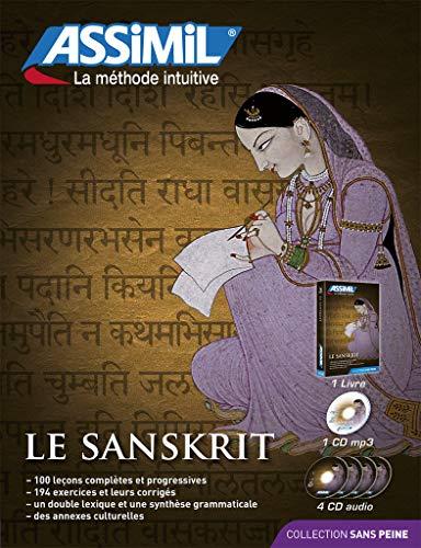 9782700580433: Le Sanskrit Superpack - Learn Sanskirt for French speakers (Livre+4CD audio+1CD mp3) (Sanskrit Edition)