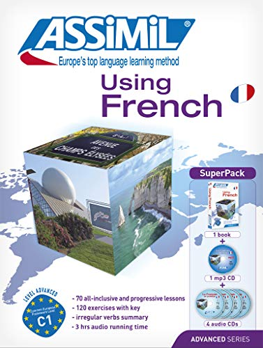 9782700580549: Using French Super Pack - Advanced French for English Speakers - Book + 4 CD's plus 1CD MP3 (French Edition)