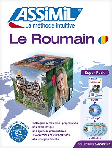 9782700580587: Assimil Superpack Le Roumain (Romanian for French speakers - book plus 4 CD plus CD MP3 (French Edition)
