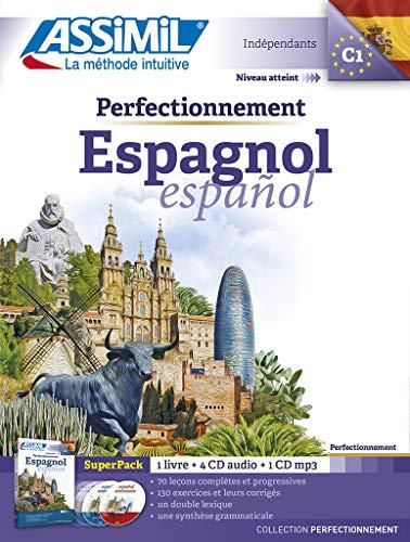9782700580655: Superpack perfectionnement Espagnol (livre+4 Cd audio+1Cd mp3)