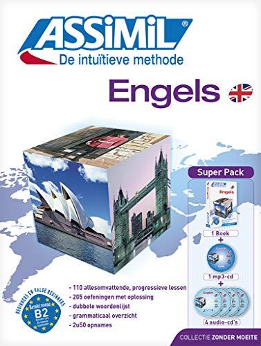 9782700580709: Methode ASSIMIL - Engels - Super Pack ( 1 book / boek + 1 mp3 CD + 4 audio CDs) [ British English for Dutch speakers ]