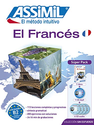 9782700580723: Método ASSIMIL - FRANCES - Superpack (1 libro + 4 CD audio + 1 CD MP3) (French Edition)