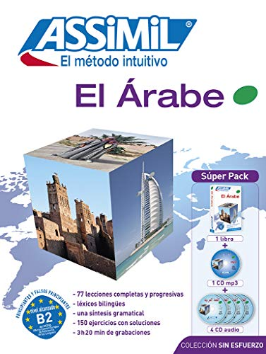 9782700580747: Assimil El Arabe Superpack : Arabic for Spanish speakers - book + 1 CD MP3 + 4 Audio CD's (Arabic Edition)