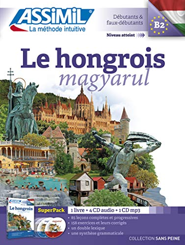 9782700580846: Le Hongrois Superpack ( livre + 4CD audio + 1CD mp3 ) - Hungarian for French speakers (Hungarian Edition)