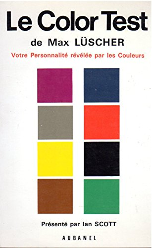 9782700600025: The Luscher Color Test