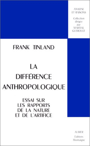 9782700700541: La diff�rence anthropologique