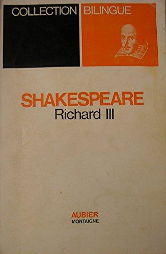 9782700702774: RICHARD III (BILINGUE)