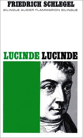 9782700705478: Lucinde (bilingue)