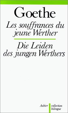 9782700710144: Les souffrances du jeune Werther (Die Leiden des jungen Werthers)