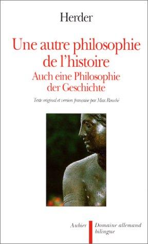 9782700710359: Une autre philosophie de l'histoire