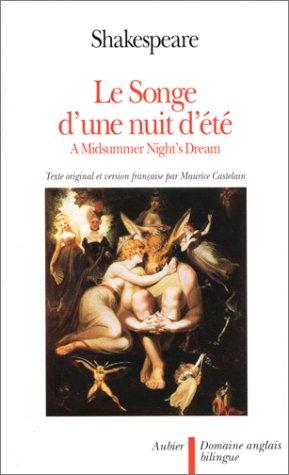 9782700712964: Le songe d'une nuit d'été - A Midsummer night's dream, édition bilingue (français-anglais)