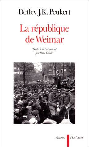 Republique de weimar (French Edition)