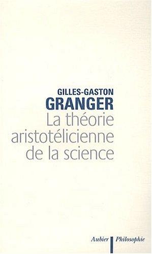 9782700733068: La théorie aristotélicienne de la science