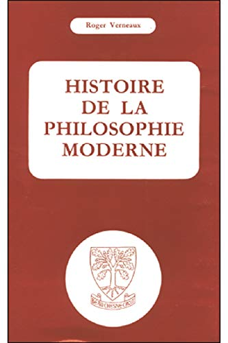 9782701002798: Histoire de la philosophie moderne