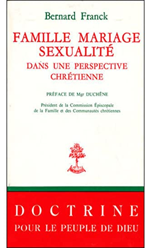 9782701010137: Famille, mariage, sexualité dans une perspective chrétienne. Documents du synode commun des diocèses allemands, 1971 - 1975