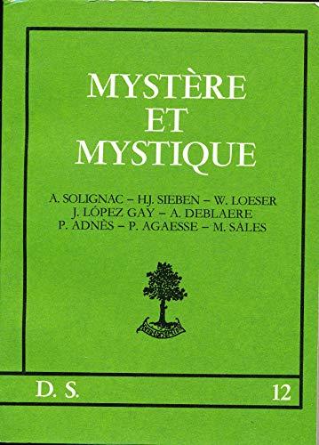 9782701010717: Myst�re et mystique (D.s.)