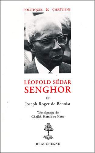 9782701013787: Léopold Sédar Senghor (Politiques et chrétiens)