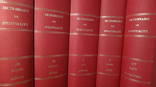 9782701014234: Dictionnaire spiritualit� coll complete
