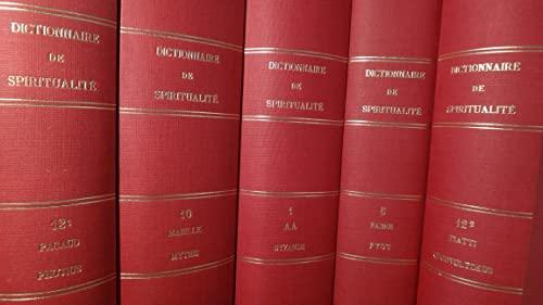 9782701014234: Dictionnaire spiritualité coll complete