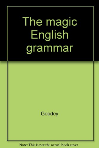 9782701104836: The magic English grammar