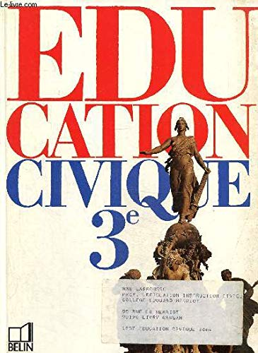 EDUCATION CIVIQUE 3e